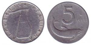5_lire_1953 pile ou face statistique