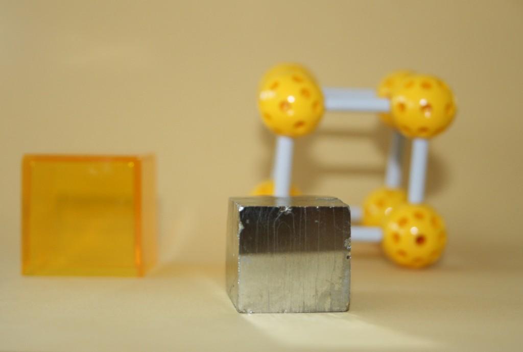 Model cubique : la pirite