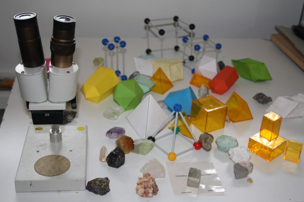 cristallographie pour enfants
