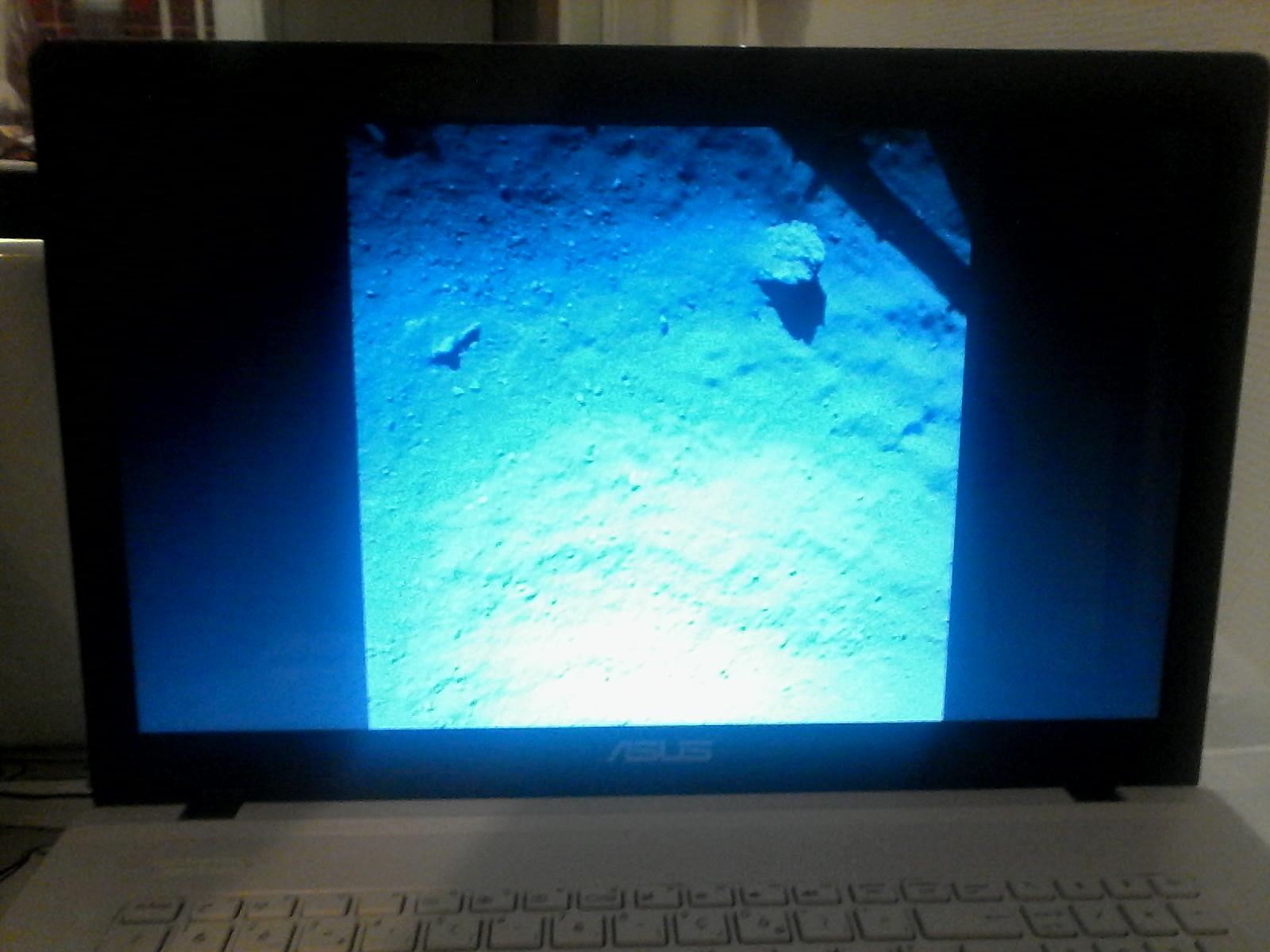 première image de la comète rosetta philae