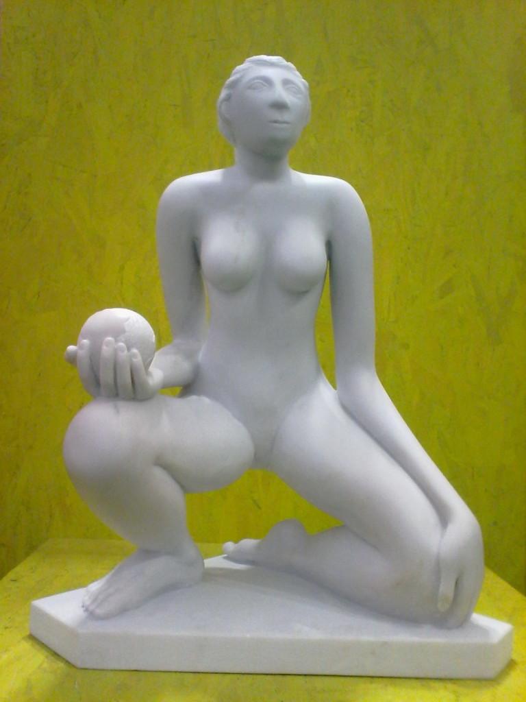 """""""Il mondo è nelle nostre mani"""" di Rafael Garcia Miro"""
