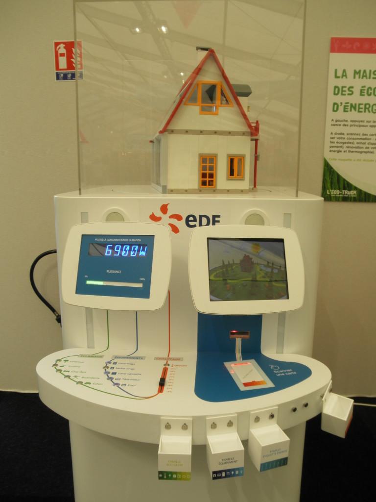 cop21 modellinomostra interattiva EDF