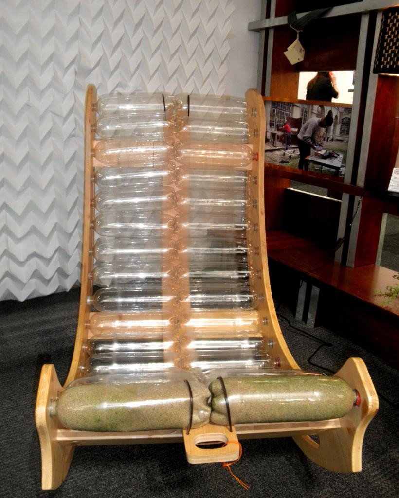 cop21 recyclage design chaise longue