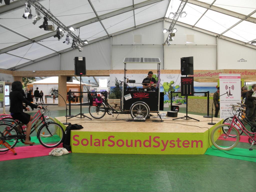 cop21 solar sound system