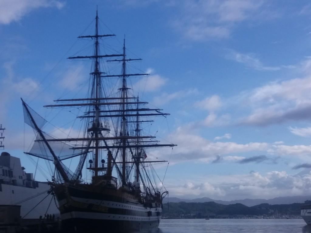 vespucci dans le port