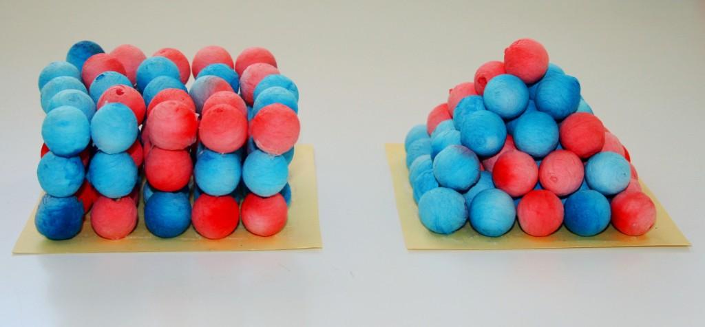 Impilamento di sfere