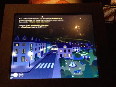 Gioco interattivo sull'inquinamento luminoso