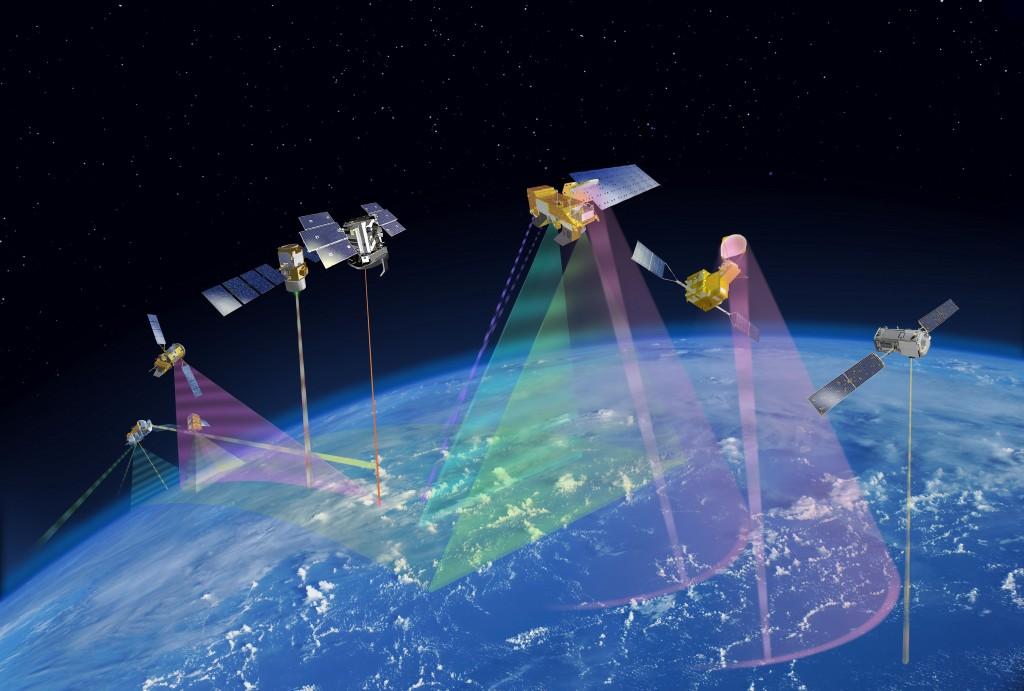 Costellazione di satelliti A-Train, NASA