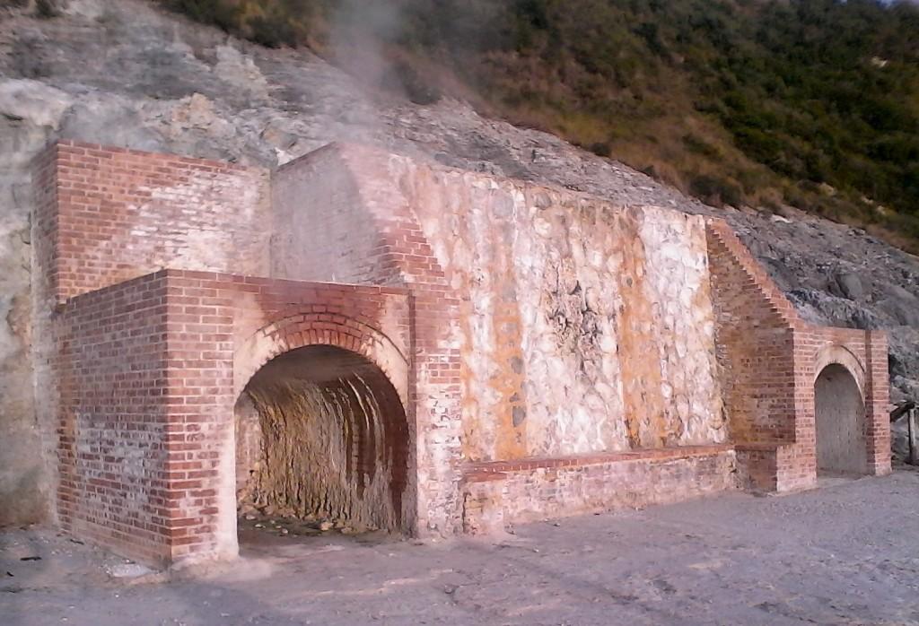 étuves humides (sudatorium) solfatara