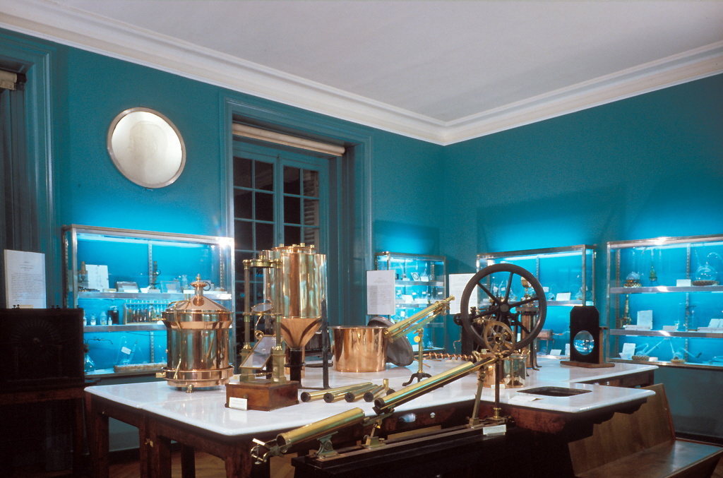 Salle des souvenirs scientifiques du Musée Pasteur © Institut Pasteur