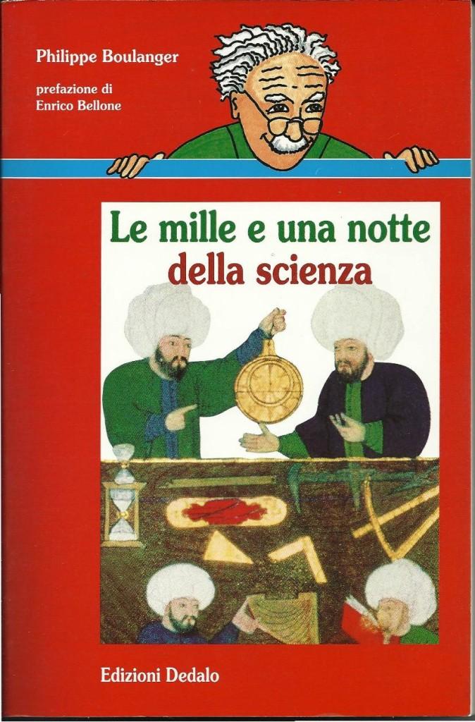 copertina del libro mille e una notte della scienza
